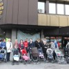 Porodilje ispred zgrade Vlade ZDK-a zbog kašnjenja naknada