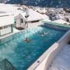KANADA: Turisti uživaju u otvorenim bazenima okruženi snijegom