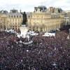 Historijski marš protiv terorizma u Parizu