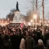Protesti građana na Trgu Republike u Parizu
